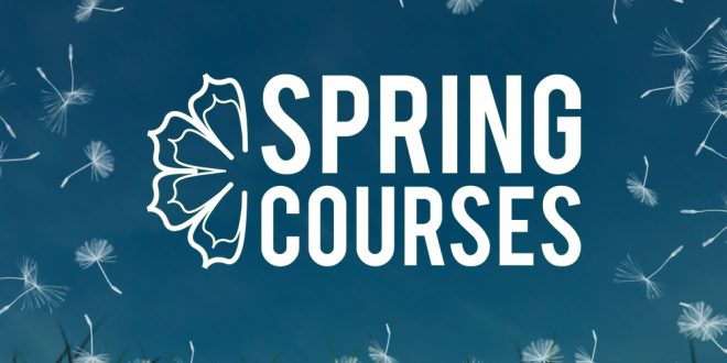 Spring course application period has opened!